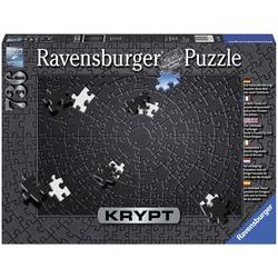 Ravensburger Puzzle Krypt Black, 736 Puzzleteile, Made in Germany, FSC® - schützt Wald - weltweit