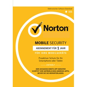 Norton MOBILE (Internet) SECURITY - 1-User / 1-Jahr - Android / IOS / KEY