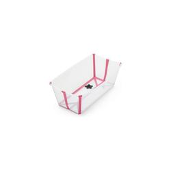 Stokke Babywanne Flexi Bath® faltbare Badewanne mit rosa