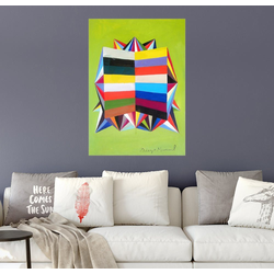 Posterlounge Wandbild, Astrapop II 50 cm x 70 cm