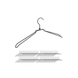 relaxdays Kleiderbügel 48 x Kleiderbügel Metall