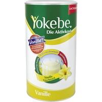 Yokebe Aktivkost Lactosefrei Vanille Pulver 500 g