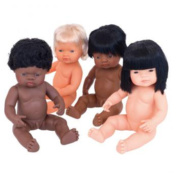Baby-Puppen - afrikanischer Junge