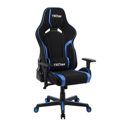 Fabric Office PC Gaming Chair Blue - Techni Sport
