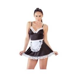 Kleid plus Schürze zum Binden, im Kellnerinnen-Look