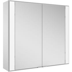 Keuco Spiegelschrank 60 ROYAL 700 x 650 x 149 mm, Wandeinbau silber-gebeizt-eloxiert