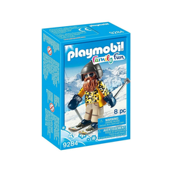 Playmobil® Spielfigur PLAYMOBIL® 9284 - Family Fun - Skifahrer mit Snowblades
