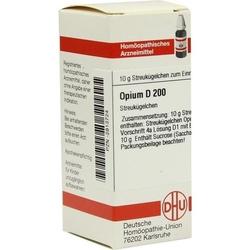 OPIUM D 200 Globuli 10 g