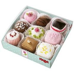 HABA 3808 9er Pack Pralinen Spiellebensmittel