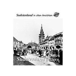 Sudetenland gestern 2021 - Kalender