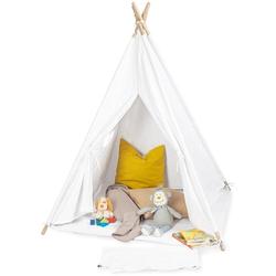 Pinolino Spielzelt Tipi Aponi, weiß Kinder Spieltunnel Outdoor-Spielzeug