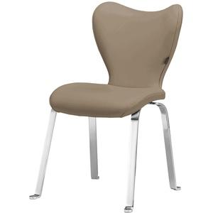 JOOP! Leder Dinner-Stuhl  Lounge ¦ braun ¦ Maße (cm): B: 53 H: 89 T: 65 » Möbel Kraft