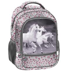 PASO Rucksack Pferd Horse grau
