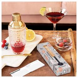 Grafik Werkstatt Würfelpuzzle Holzwürfel-Set Cocktail Lounge, Puzzleteile