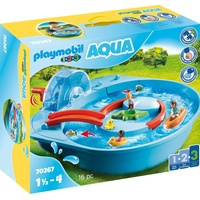 Playmobil 1.2.3 Fröhliche Wasserbahn (70267)