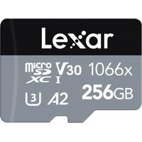 Lexar microSDXC Card 256GB High-Performance 1066x UHS-I U3