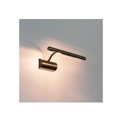 Licht-Erlebnisse Wandleuchte PICTURE LIGHT Bilderleuchte Bronze 2flmg G9 Wandlampe Lampe