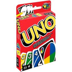 UNO Kartenspiel, geeignet für 2 - 10 Spieler von Mattel