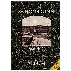 Schönbrunn 1860-1920 - Buch