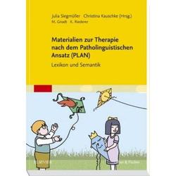 Materialien zur Therapie nach dem Patholinguistischen Ansatz (PLAN)