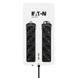 EATON 3S 850 DIN Unterbrechungsfreie Stromversorgung 850 VA weiß