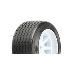 Proline 10139-17 VTA Reifen hinten (31mm) auf Felge weiss verklebt (2 Stk.)