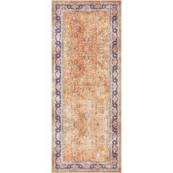 Läufer Keshan Maschad, ELLE Decor, rechteckig, Höhe 5 mm, Orient-Optik gelb