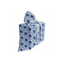 Abakuhaus Geschenkbox 3x Bändern Wiederbenutzbar, Paisley Blumen Efeublätter und Punkte