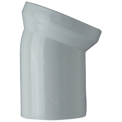 CORNAT WC-Ablaufbogen, 22°, 22°