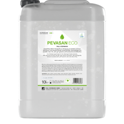 PEVASAN ECO Flüssigseife, Umweltfreundliche Handseife mit Glycerin und hautschonenden Zuckertensiden, 10 Liter - Kanister