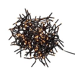 BRIGHT LIGHTS Lichterkette Cluster 288 Lichter Lichterketten-Indoor schwarz