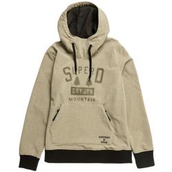 Superdry - Snow Tech Hood M Grey Marl - Sweatshirts - Größe: L