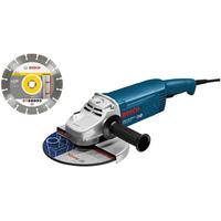 Bosch GWS 20-230 H Professional inkl. Diamantscheibe (0601850L06)