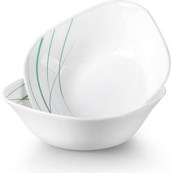 VEWEET Geschirr-Set AVIVAGLAS (2-tlg), Opalglas