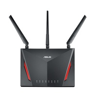 Asus RT-AC86U AC2900 Wireless DualBand Gigabit Router (90IG0401-BM300)