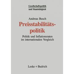 Preisstabilitätspolitik als Buch von Andreas Busch