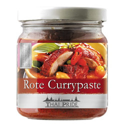Thai Pride Currypaste, rot, 3er Pack (3 x 195 g)