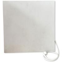 Jollytherm Infrarot-Keramikheizkörper 60 x 60 cm 365 W weiß grau