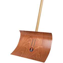 Ideal Schneeräumer Pressholz mit Stiel 55 cm breit ( Inh.5 Stück )