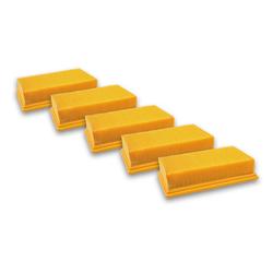 AccuCell Staubsaugerrohr 5x Staubsaugerfilter für Staubsauger wie Dewalt D2
