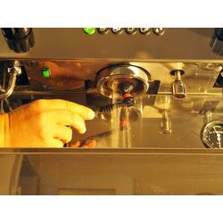 Reinigungsbürste, scarlet espresso, Reinigungsbürste für Brühgruppen accurato deluxe für die regelmäßige Pflege Reinigung von Siebträgermaschinen von scarlet espresso
