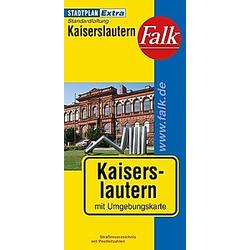 Falk Plan Kaiserslautern - Buch