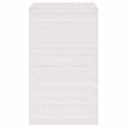 Papierflachbeutel weiß 8 x 11 cm, 4000 Stk.