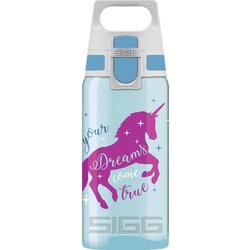 SIGG Trinkflasche VIVA ONE Unicorn 8686.60 Hellblau 500ml