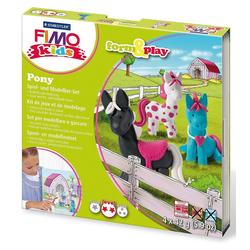 STAEDTLER Knete FIMO kids Form & Play Pony