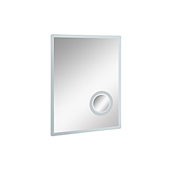 LED Badspiegel mit Schminkspiegel