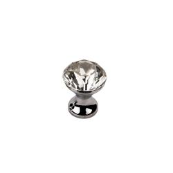 SO-TECH® Möbelknopf, Crystal-Line Chrom / Kristallglas 22 mm