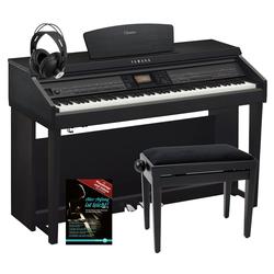 Yamaha CVP-701 B Clavinova Digitalpiano Schwarz Matt SET inkl. Bank + Kopfhörer + Klavierschule