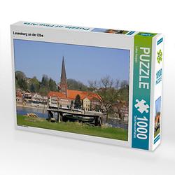 Lauenburg an der Elbe Lege-Größe 64 x 48 cm Foto-Puzzle Bild von Lothar Reupert Puzzle