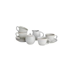 BUTLERS Single Geschirr-Set HENLEY Kaffee-Set 6-tlg.